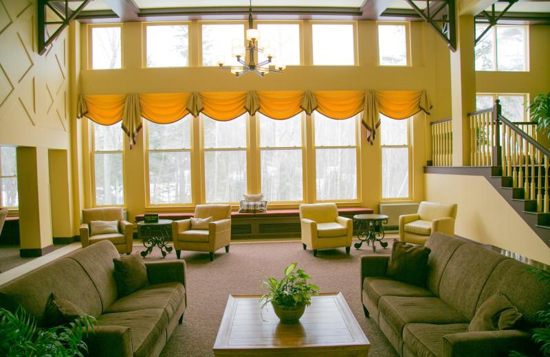 Resort lobby at Waterville Valley Resort Association.
