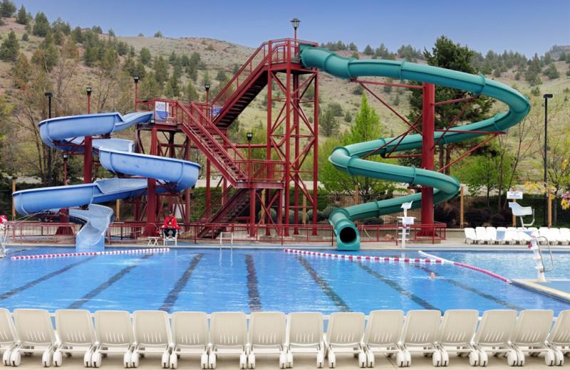 Waterpark at Kah-Nee-Ta Resort and Spa.