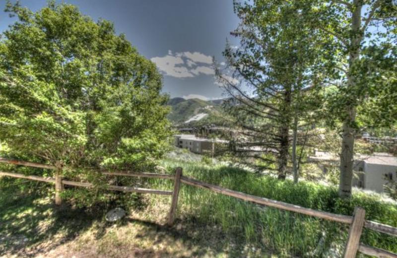 View from rental at SkyRun Vacation Rentals - Vail, Colorado.