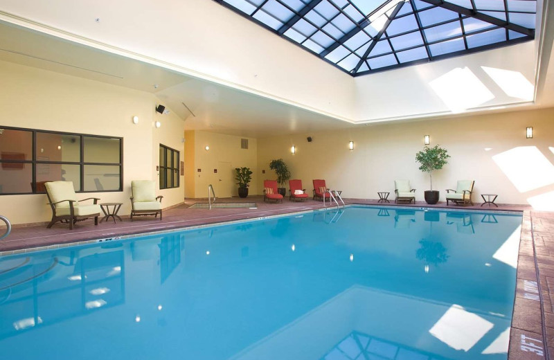 Indoor pool at DoubleTree by Hilton Asheville - Biltmore.