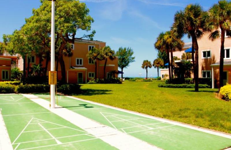 Shuffleboard at Sand Cay Beach Resort.