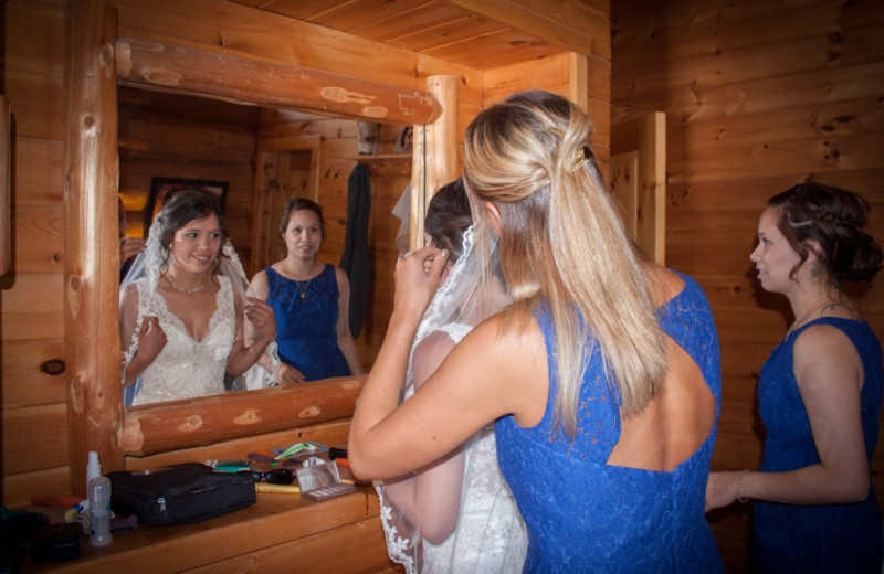 Wedding at Buckhorn on Caribou.