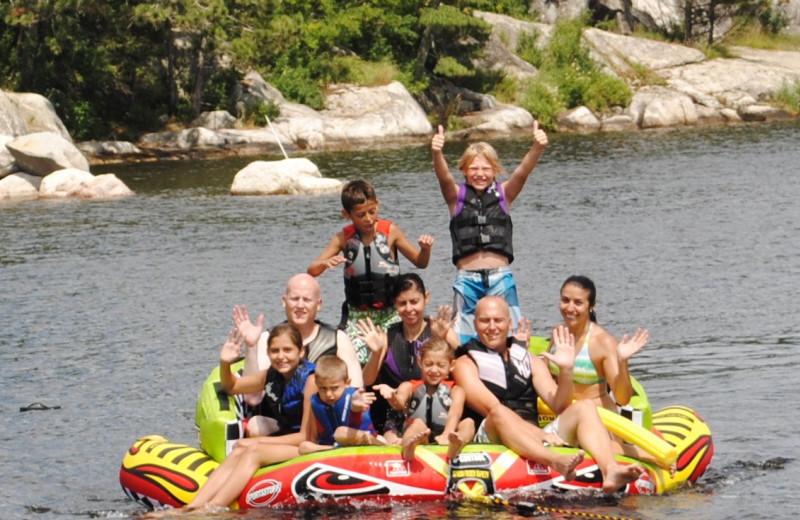 Fun lake activities at Moosehorn Resort!