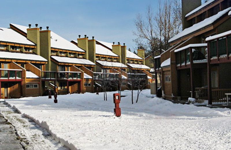 Exterior of Units at the Panorama Vacation Retreat at Horsethief Lodge