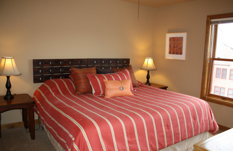Guest bedroom at Ferringway Condominiums.