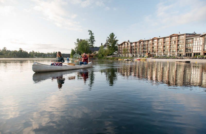 Complimentary Kayaks, Rowboats, SUPs, Canoes & Paddleboats for Guests