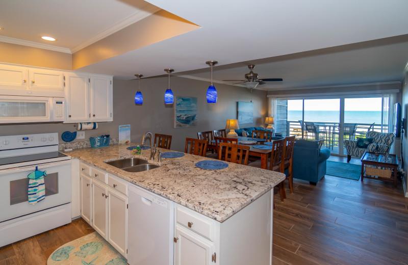 Rental interior at Sea Star Realty.
