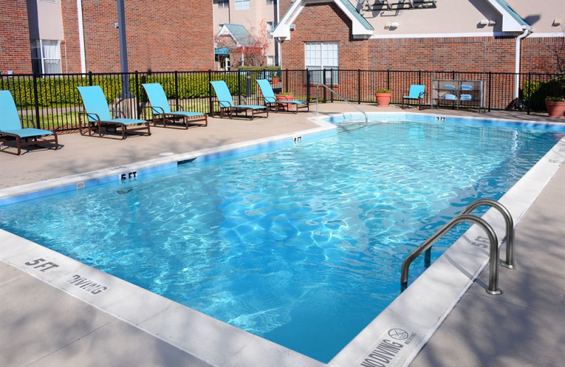 Outdoor pool at Residence Inn by Marriott Dallas Richardson.