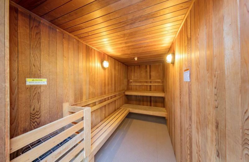 Sauna at Best Western Plus Stevenson Manor Inn.