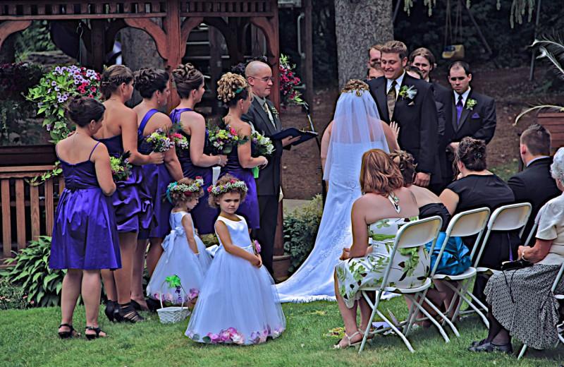 Wedding at Woodwards Resort.