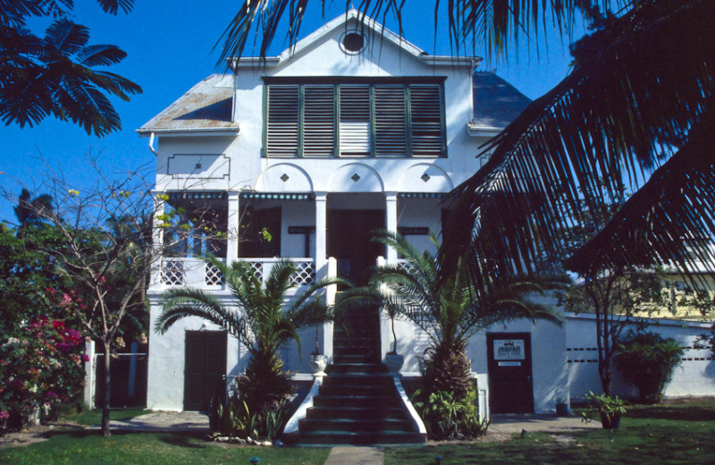 Exterior view of Fort Street Guesthouse.
