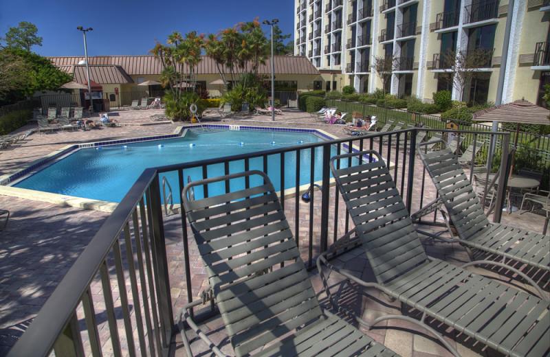 Outdoor pool at Rosen Inn.
