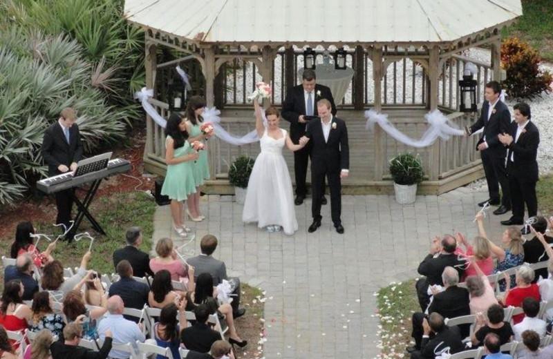 Wedding at Crowne Plaza Melbourne Oceanfront Resort.