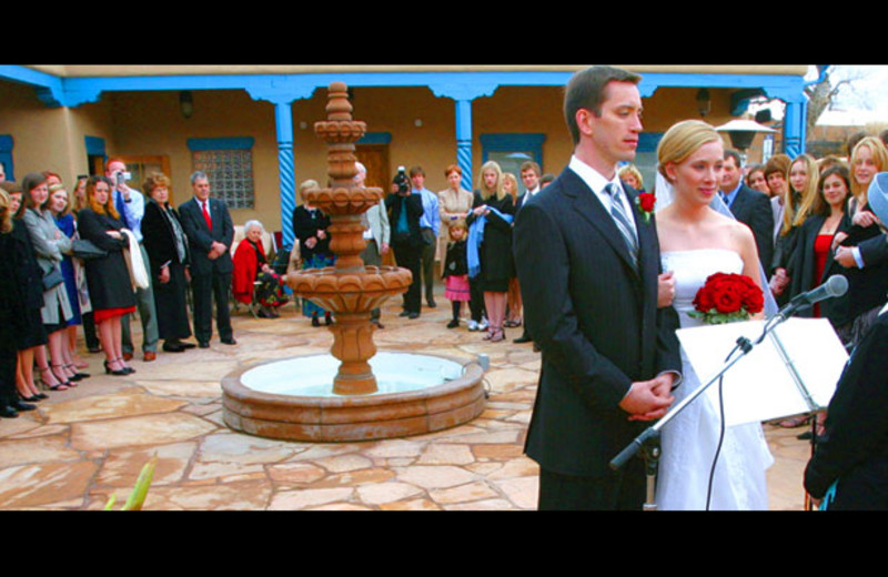 Wedding at Casa Benavides Bed & Breakfast.