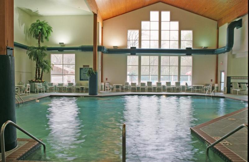 Indoor pool at The Cove of Lake Geneva.