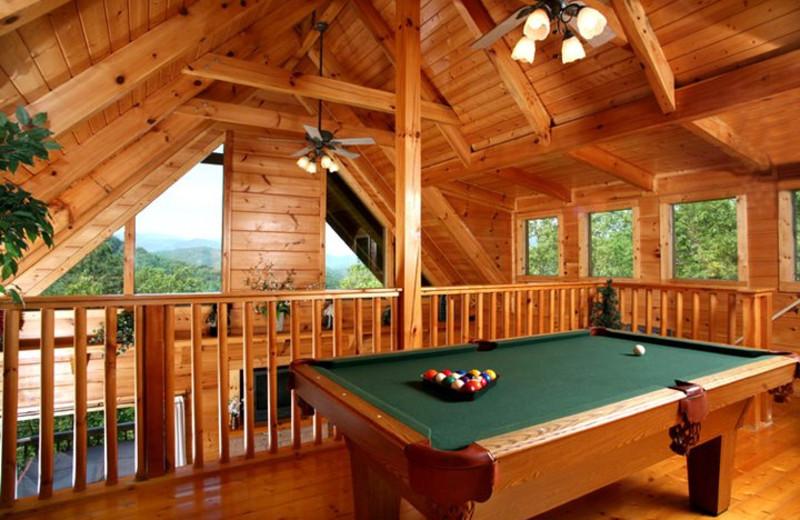 Rental loft at Jackson Mountain Homes.