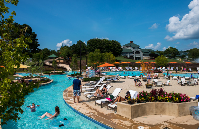 Water park at Kingsmill Resort.