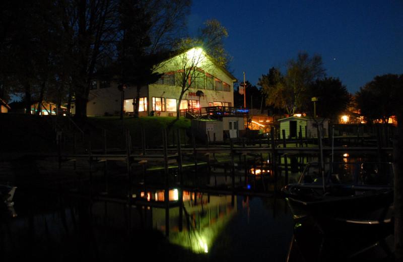 Exterior view of Adrian's Resort.