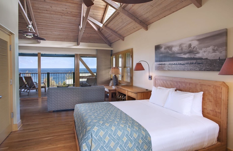 Guest room at Travaasa Hana, Maui.