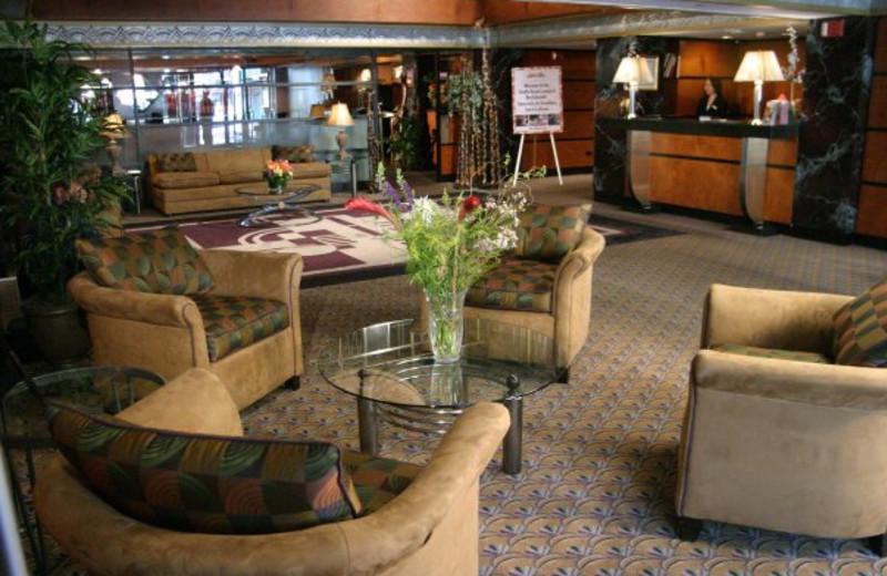 Lobby view at Inn at Great Neck.
