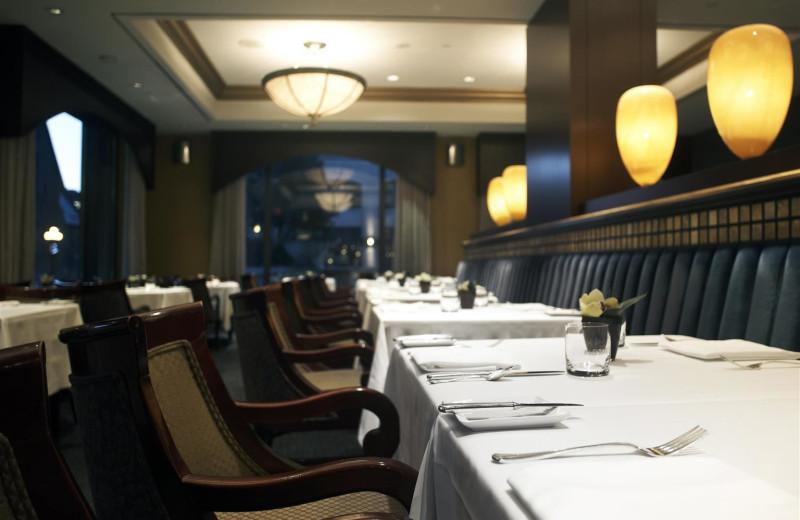 Dining at Park Hyatt Toronto.
