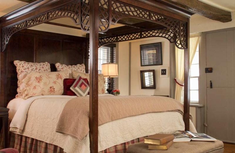 Guest room at Olde Rhinebeck Inn.