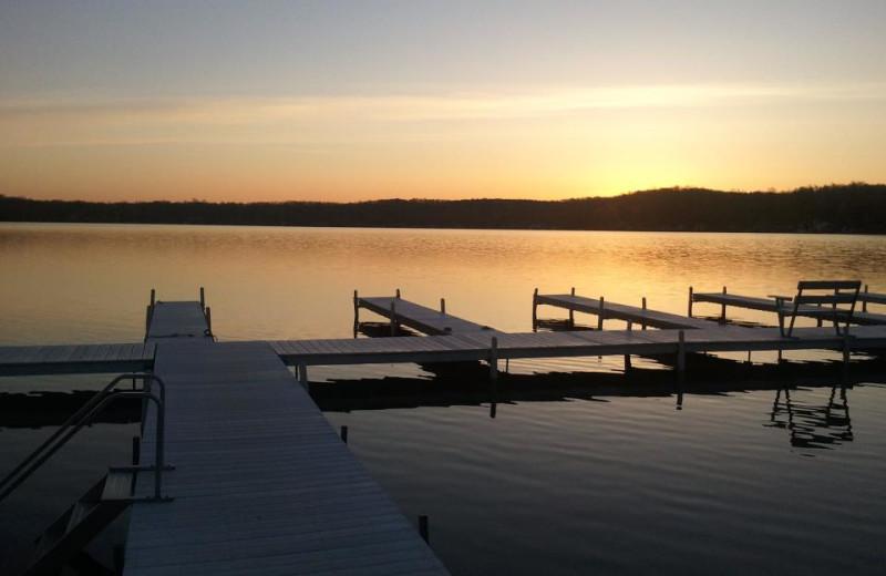 Sunsets at Bay Pointe Inn.