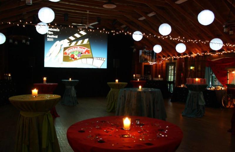 Group events at Sebasco Harbor Resort.