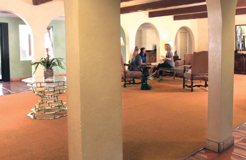 Interior view at Canyon Ranch Tucson.