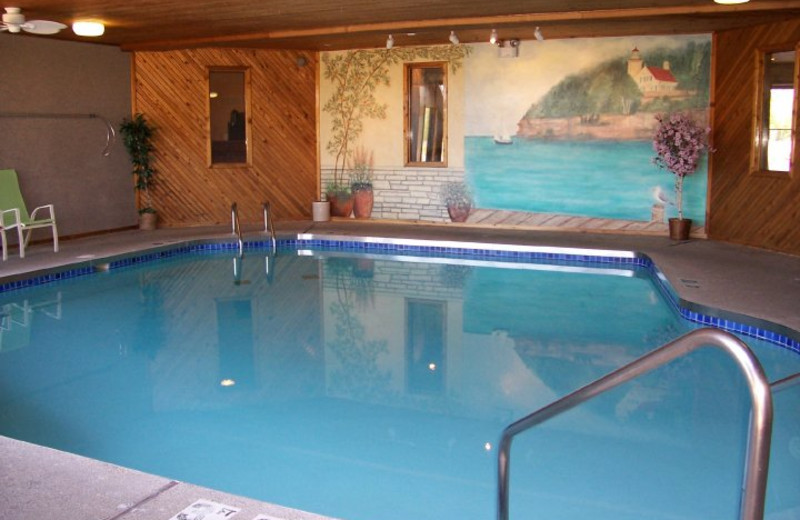 Indoor Pool at Open Hearth Lodge
