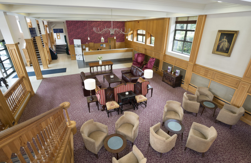 Lobby at Hellaby Hall.