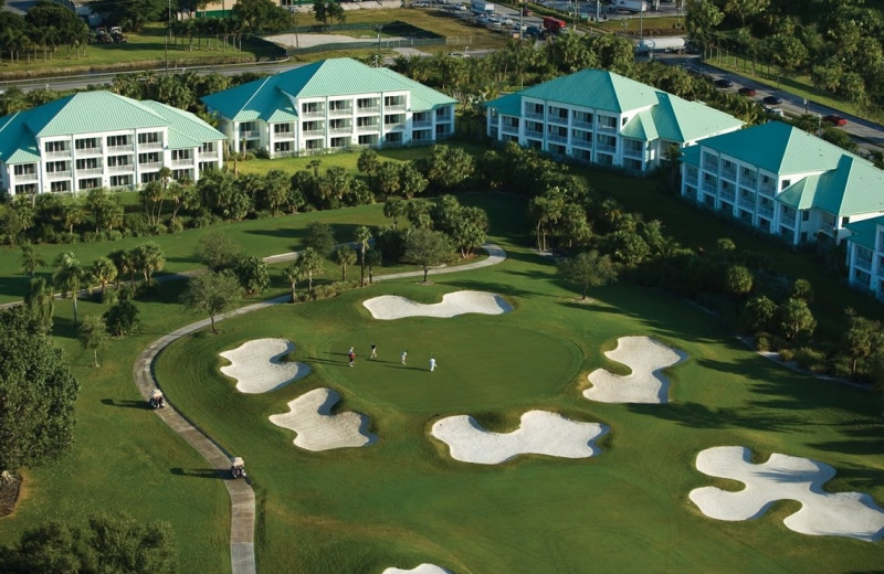 Golf course at Hyatt Miami at The Blue.
