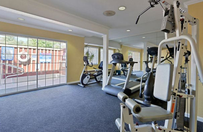 Fitness Center at Best Western Plus Executive Suites