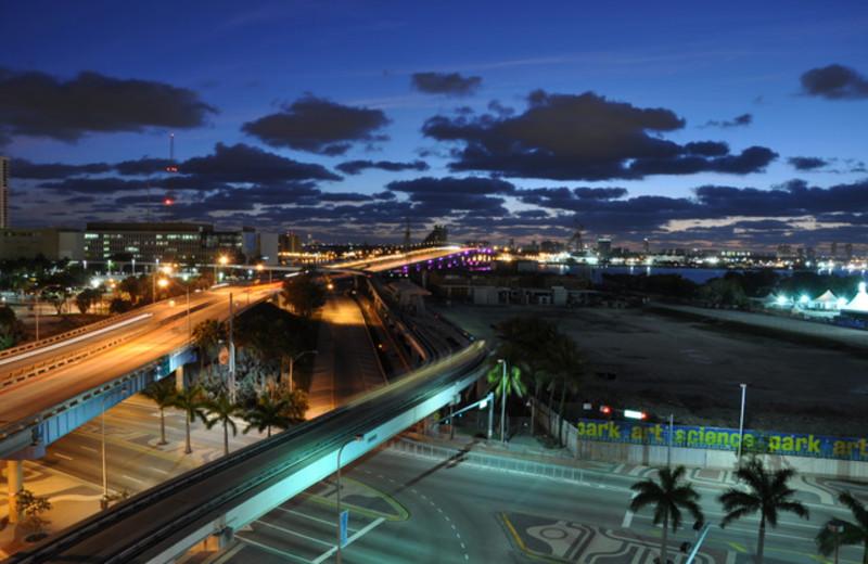 Exterior view from Casa Moderna Miami.