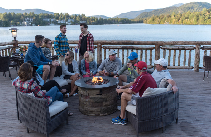 The Boathouse is the perfect spot for a family reunion or to hang out with friends!