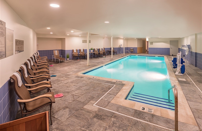 Indoor pool at Westport Inn.