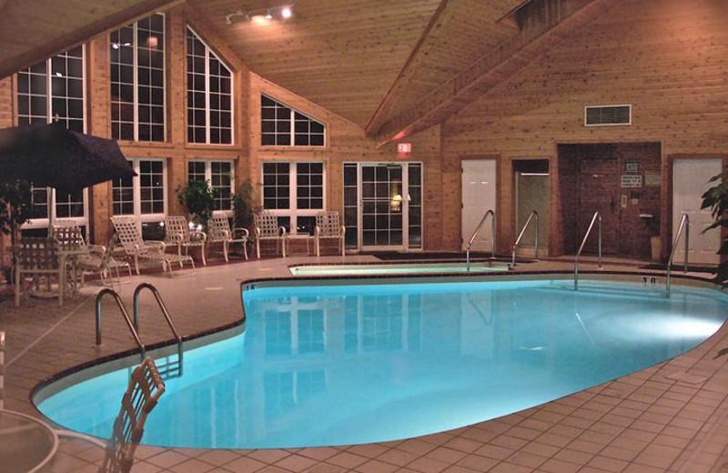 Indoor Swimming Pool at Baileys Harbor Resort