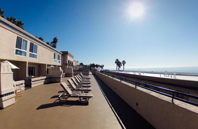 Sundeck at the Southern California Beach Club