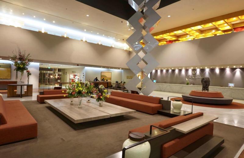 Lobby at Presidente Inter-Continental México City.