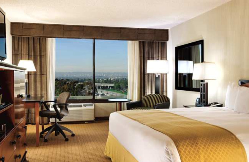 Guest room at DoubleTree by Hilton Hotel Los Angeles - Westside.