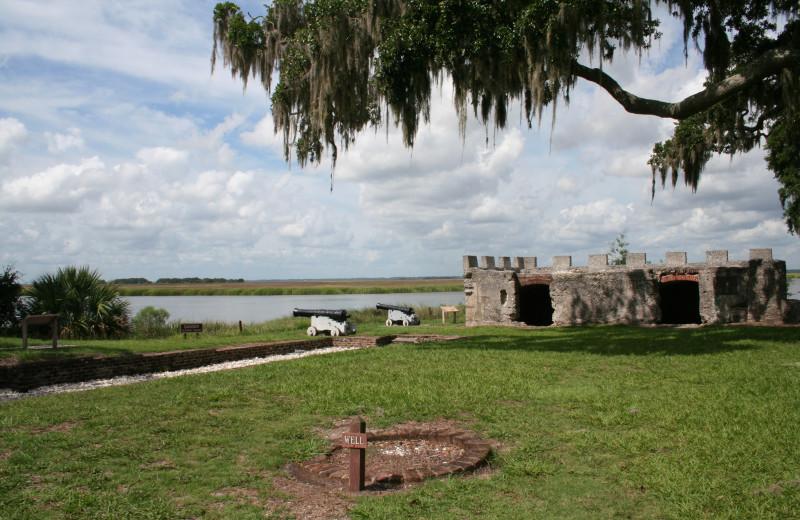 Fort Frederica near Sea Palms Resort.