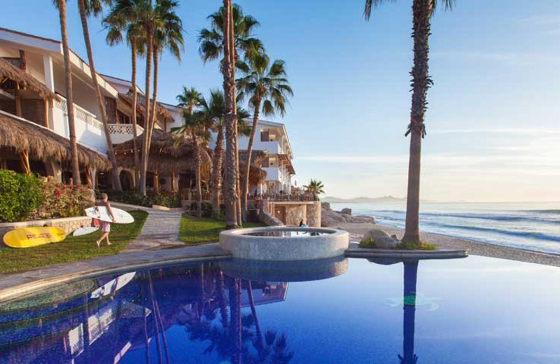 Outdoor pool at Cabo Surf Hotel & Spa.