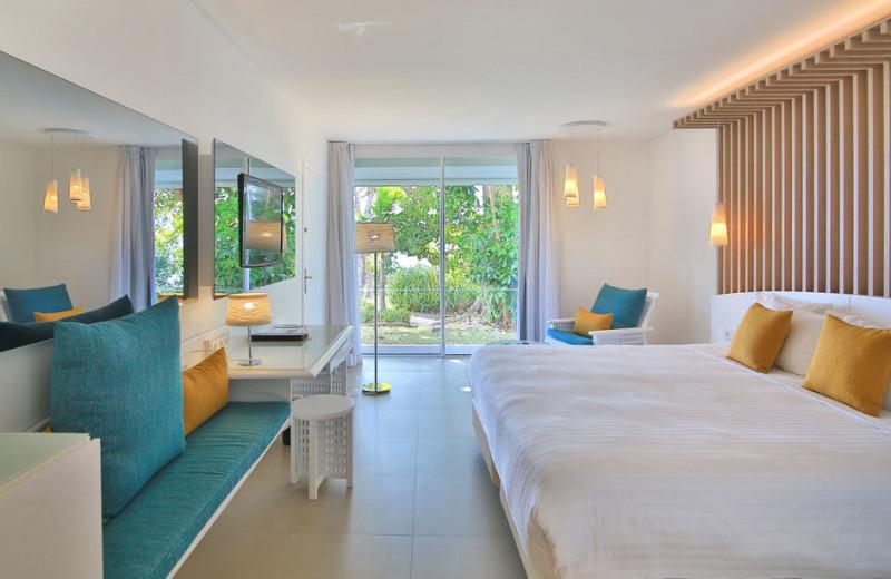 Guest room at La Creole Beach Hotel & Spa.