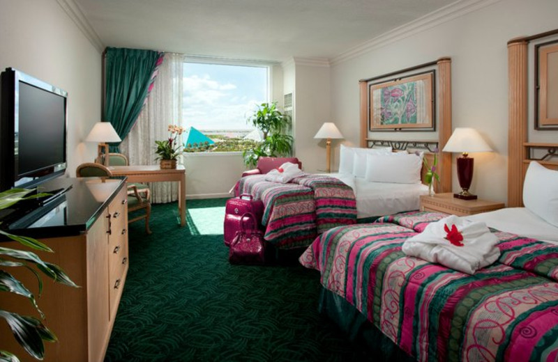 Guest Suite at Moody Gardens Hotel Spa & Conference Center