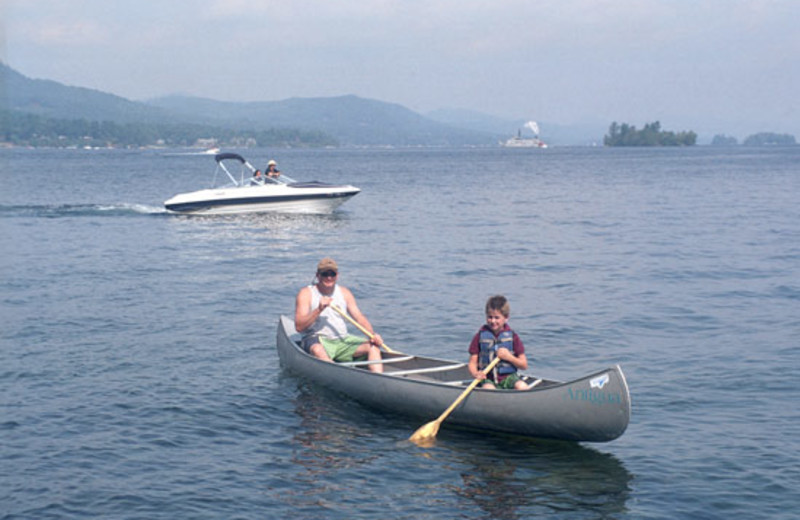 Water Fun at Antigua Resort on Plum Point