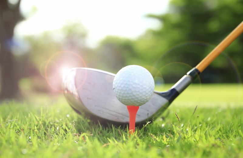 2 golf courses nearby to keep you active