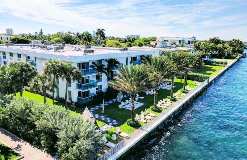 Aerial view of Bal Harbour Quarzo Luxury Boutique Hotel.