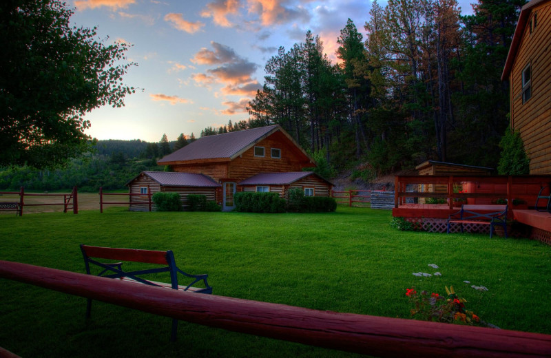 Exterior view of Blacktail Ranch.