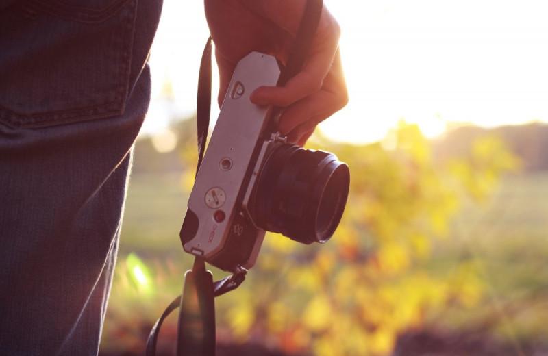Photography at Escalante Yurts.