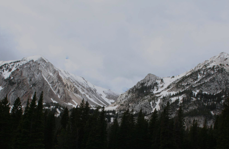 Mountains at Hardscabble Ranch.